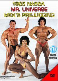 1985 NABBA Mr. Universe: Men\'s Prejudging