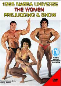 1985 NABBA Universe The Women Prejudging & Show