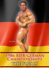 1986 BDB German Championships - Finals