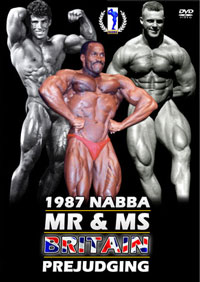1987 NABBA Mr and Ms Britain: Prejudging