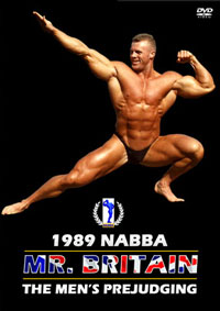 1989 NABBA Mr Britain: The Men's Prejudging