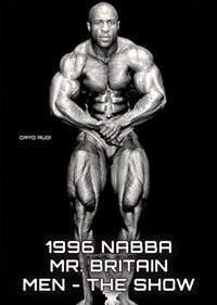 1996 NABBA Mr Britain: Men - The Show
