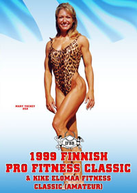 1999 Finnish Pro Fitness Classic and Kike Elomaa Fitness Classic [PCB-095DVD]