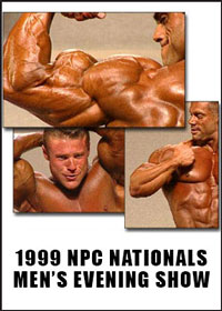 1999 NPC Nationals: The Men\'s Evening Finals [PCB-1007DVD]