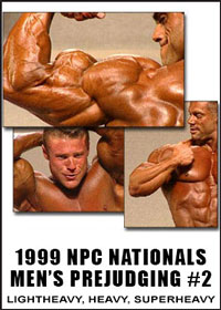 1999 NPC Nationals: Men's Prejudging Tape # 2: Light Heavy to Super Heavy
