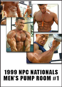 1999 NPC Nationals: Men's Pump Room DVD 1 - Bantam and Light Weights