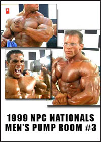 1999 NPC Nationals: Men\'s Pump Room DVD 3 - Heavy and Super Heavy Weights