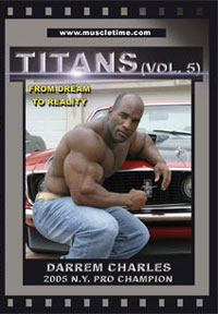 Muscletime Titans Vol. 5 Darrem Charles - From Dream to Reality