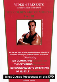 The Golden Age Of Muscle: Part 3 1986 Mr Olympia [PCB-1169DVD]