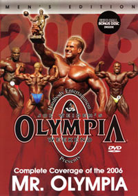 2006 Mr. Olympia 2 disc set