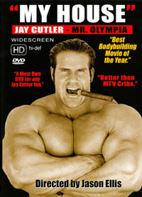 JAY CUTLER - MY HOUSE DVD