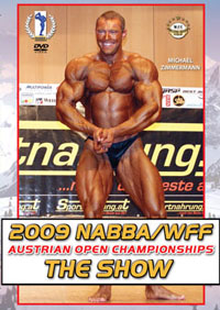 2009 NABBA/WFF Austrian Open Championships: The Show