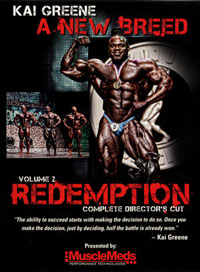 Kai Greene: A New Breed Vol 2 REDEMPTION [PCB-1362DVD]