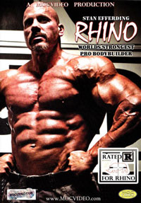 Stan Efferding RHINO: World\'s Strongest Pro Bodybuilder [PCB-1377DVD]
