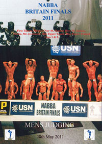 2011 NABBA Britain Finals: The Men's Prejudging