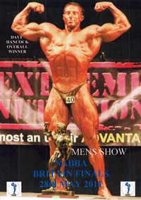 2011 NABBA Britain Finals: Men: The Show