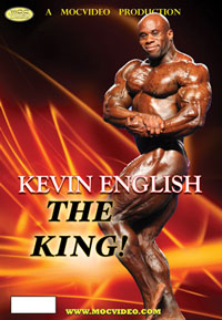 IFBB Professional Bodybuilder: Kevin English - The King [PCB-1426DVD]
