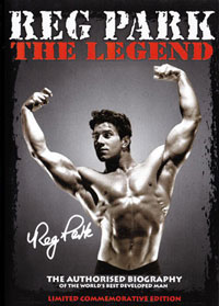 REG PARK: THE LEGEND - The Authorised Biography
