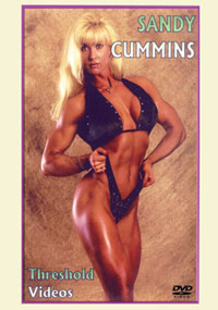 Sandy Cummins - Workout, Pumping & Posing