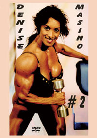 Denise Masino # 2 - Workout, Pumping & Posing