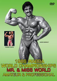 1986 WABBA Mr & Miss World Championships