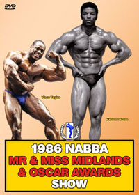 1986 NABBA Mr & Miss Midlands & Oscar Awards - Show
