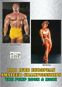 1981 IFBB European Amateur Championships - The Pump Room and more