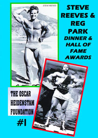 OHF Hall of Fame DVD 1 - Steve Reeves and Reg Park