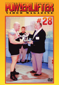 Powerlifter Video Magazine Issue # 28 [PCB-4292DVD]