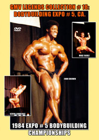 Legends Collection # 18: Bodybuilding Champs Expo # 5 CA 1984