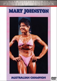 Mary Johnston - Workout and Posing