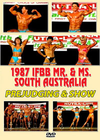 1987 IFBB Mr and Ms SA: Judging and Show