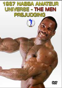 1987 NABBA Amateur Universe The Men - Prejudging