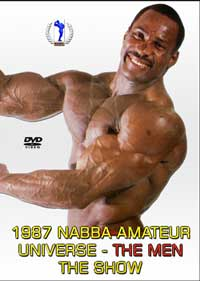 1987 NABBA Amateur Universe The Men - The Show