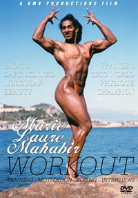 Marie-Laure Mahabir Workout & Posing