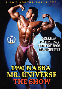 1990 NABBA Amateur & Professional Universe: The Men - The Show [PCB-118DVD]