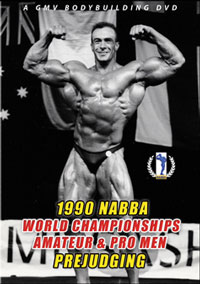 1990 NABBA World Championships: Pro/Am - Prejudging
