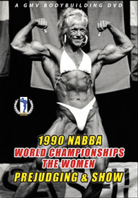 1990 NABBA World Championships: The Women - Judging & Show [PCB-122DVD]