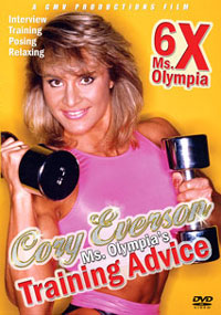 Cory Everson: Ms. Olympia's Training Advice & Posing