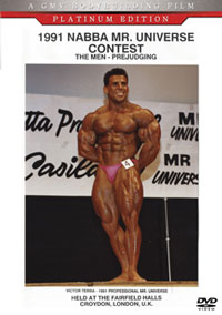 1991 NABBA Mr. Universe: The Men - Prejudging