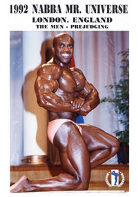 1992 NABBA Universe: The Men - Prejudging
