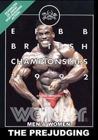 1992 EFBB British Championships: Prejudging