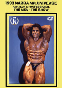 1993 NABBA Mr. Universe: Amateur & Professional: The Men - The Show