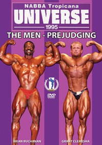 1995 NABBA Universe The Men - Prejudging