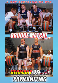 Grudge Match: Germany Vs U.S.A. Powerlifting at FIBO