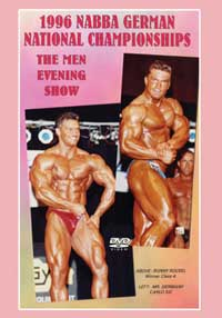 1996 NABBA German National Championships The Men The Show