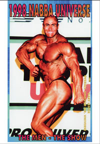 1998 NABBA Universe (50th Year) The Men - The Show