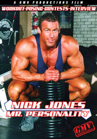Nick Jones - Mr Personality - Workout, Posing, Contest,