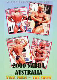 2000 NABBA Australian Championships: The Men's Show