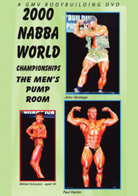 2000 NABBA World Championships - The Men: Pump Room [PCB-370DVD]